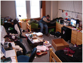Talk About One 'Messy, Unorganized Room' Huh?!